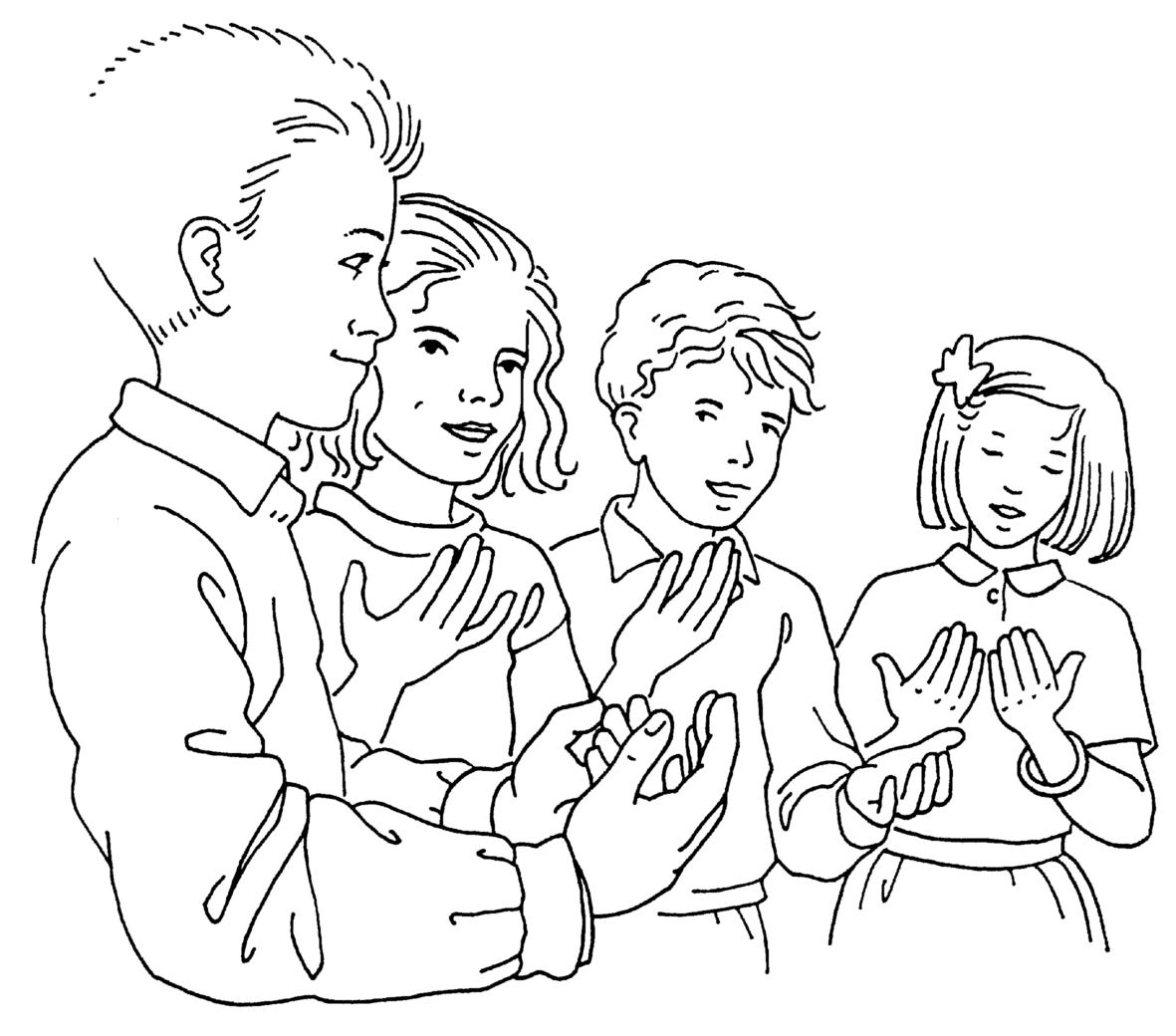 Prière Universelle Du Dimanche 12 Janvier 2020 « Baptême De Jésus » –  Accueil Des Enfants Du Catéchisme.