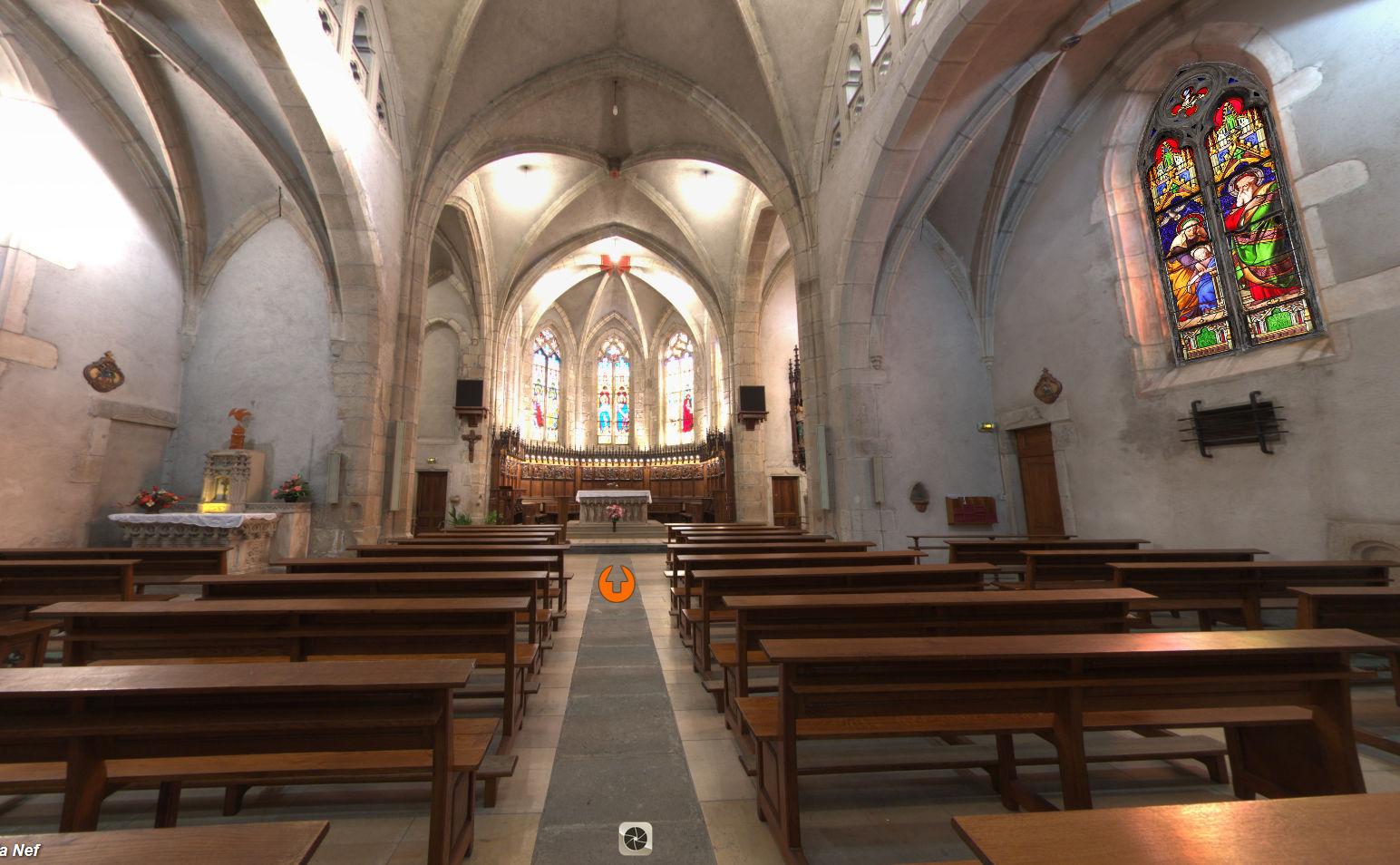 église St Pierre Mornant (B Besson)