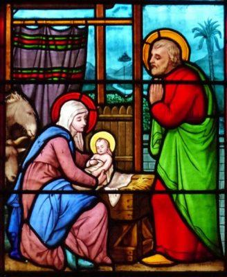 Nativité, église Saint Pierre de Mornant