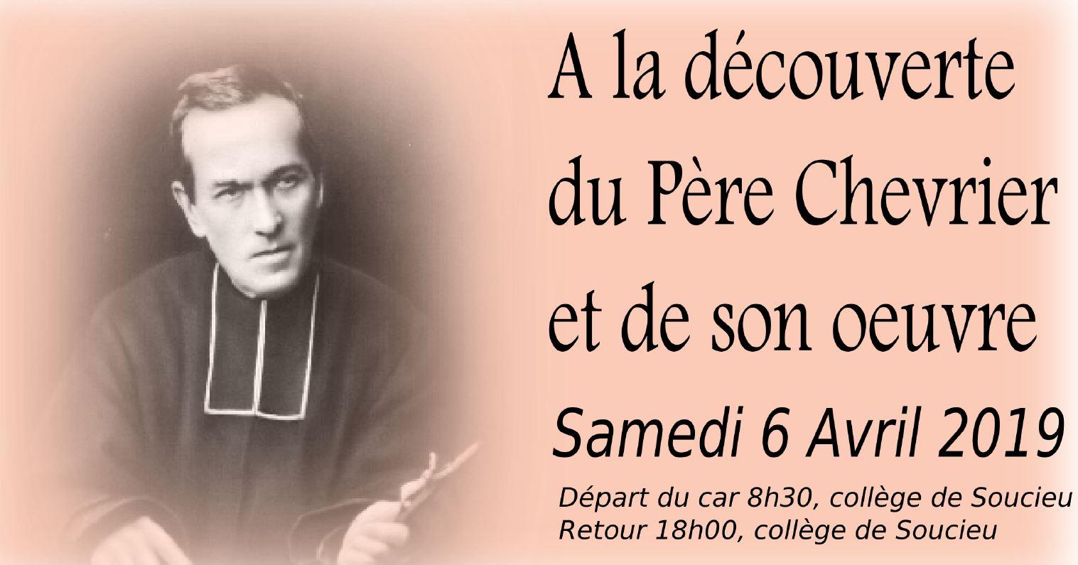 Pèlerinage De Carême Sur Les Pas Du Père Chevrier Et De Son Oeuvre