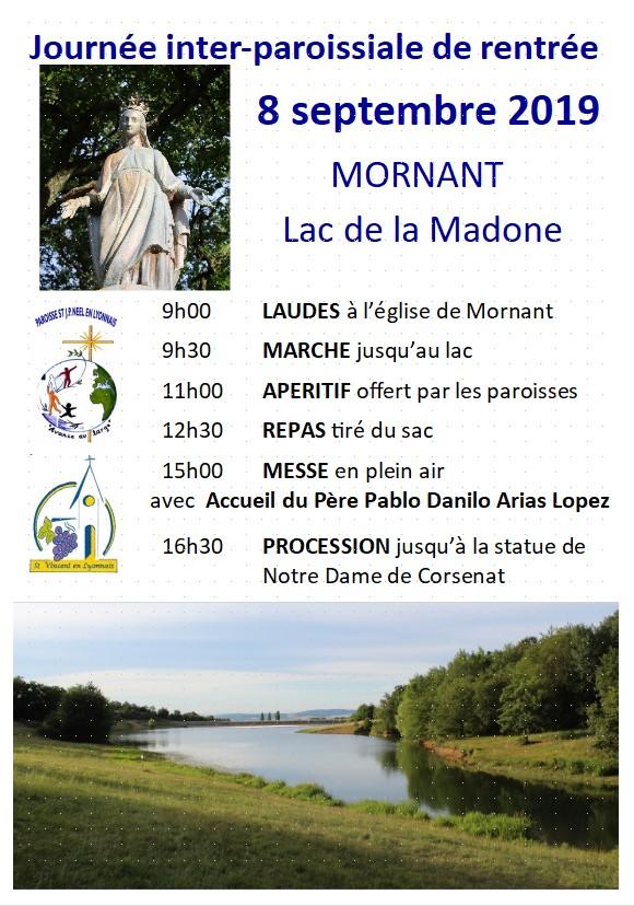 affiche lac de la Madone 2019