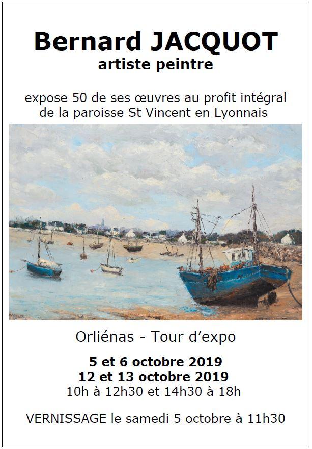 Exposition Bernard Jacquot Au Profit De La Paroisse St Vincent En Lyonnais