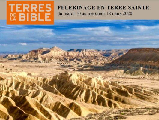 2020 Pelerinage Terre Sainte En Mars (poster)