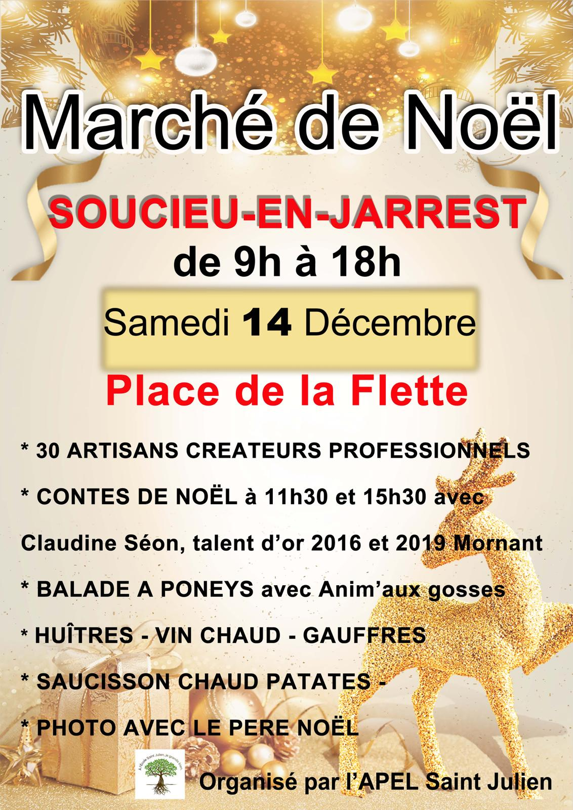 Marché De Noël 2019 école St Julien