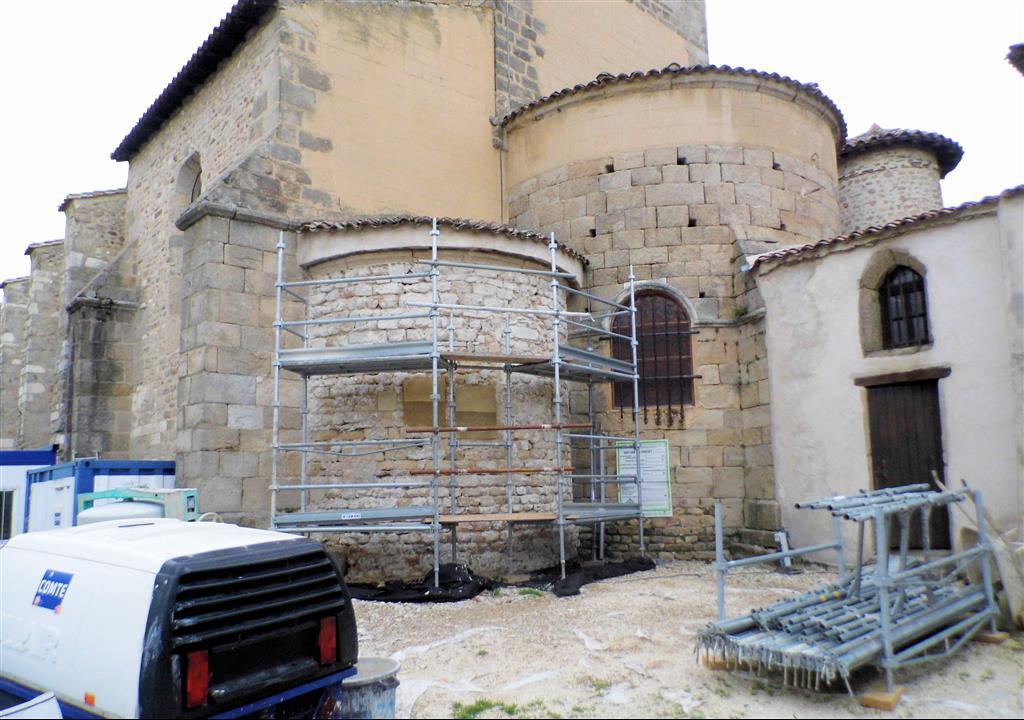 Église De Taluyers – Derniers Travaux Avant Réouverture