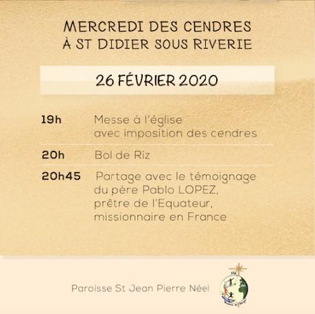 Affiche Careme Stjpn 2020 Infos