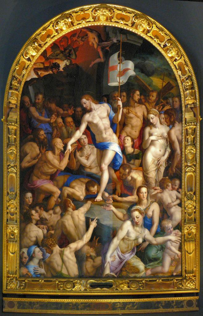 Agnolo Bronzino, Descente Du Christ Aux Enfers,1552 Florence