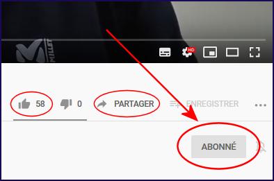 Actu Youtube Partager Abonner