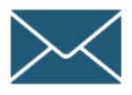 Dessin Icone Icon Symbole Email Enveloppe Bleue 150pix