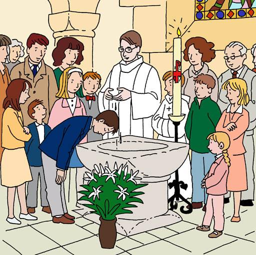 Logo Baptême En âge Scolaire