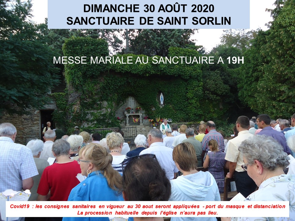 Messe Sanctuaire 2020